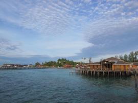Kamar penginapan di Derawan Dive Resort